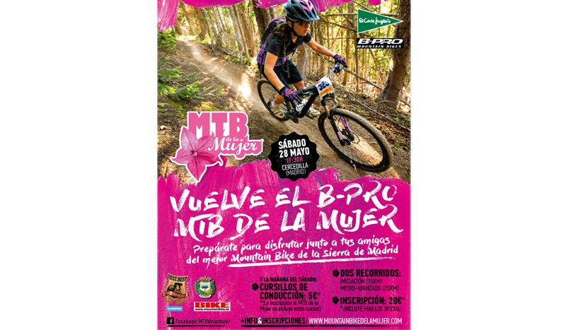 ¡Vuelve el Moutain Bike de la Mujer 2016!