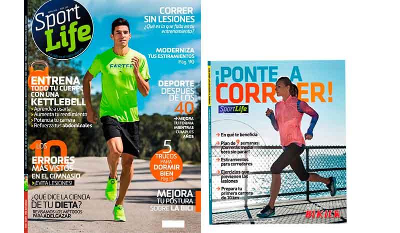 Sport Life abril ya está en los quioscos con la Guía de iniciación al running de Bikila