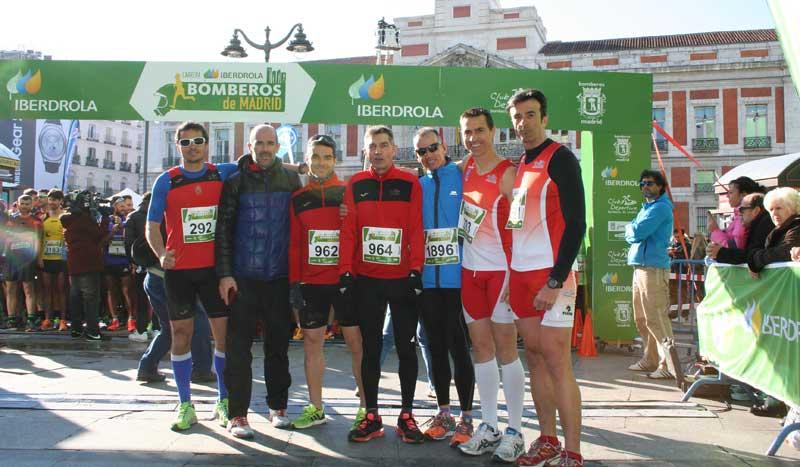 Una de las historias más emocionantes de la Carrera Bomberos Iberdrola de Madrid