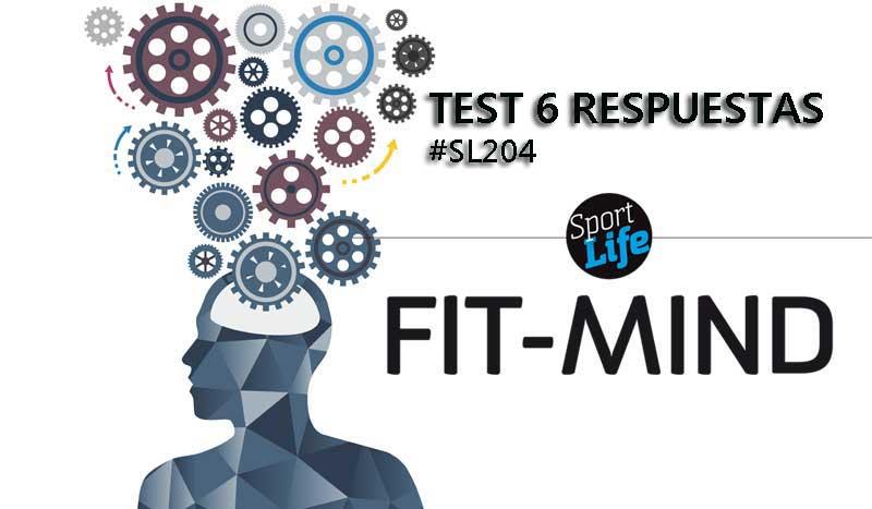 Fit-Mind: respuestas sexto test
