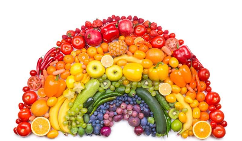 La propiedad que esconde el color de los vegetales