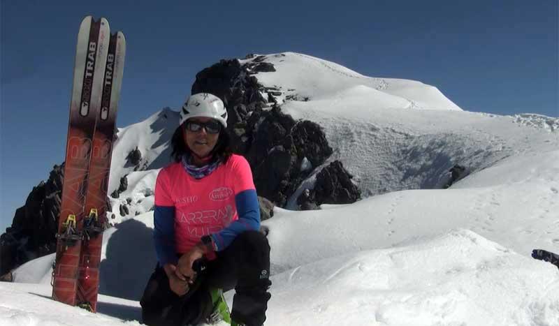 Rosa Fernández quiere conquistar el K-2 la segunda montaña más alta del mundo, ¿la ayudas?
