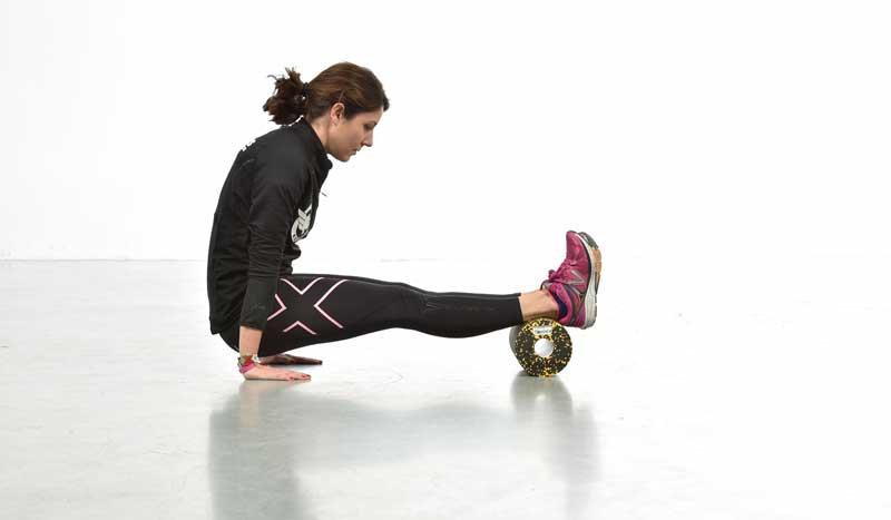Ejercicios con roller foam: para fortalecer y descargar músculos