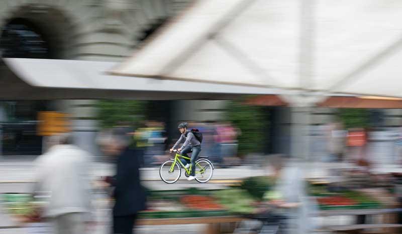 Ponte en forma con tu bici de ciudad