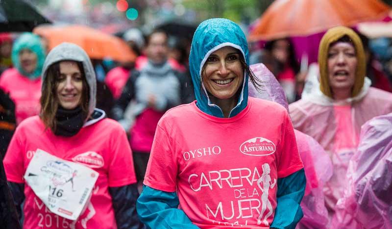 La Carrera de la Mujer, más fuerte que la lluvia