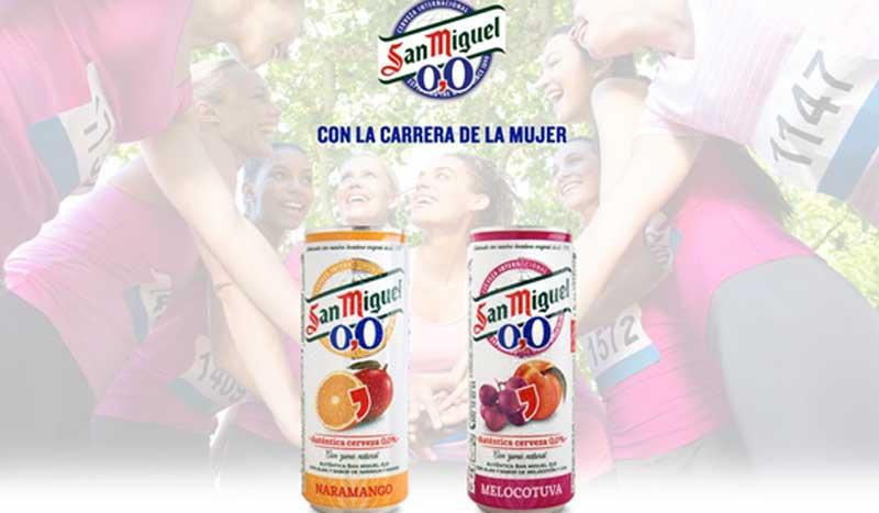 San Miguel 0,0% se une a la Carrera de la Mujer