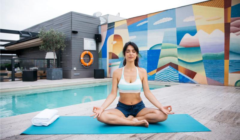 Yo hago yoga con Cristina Brondo
