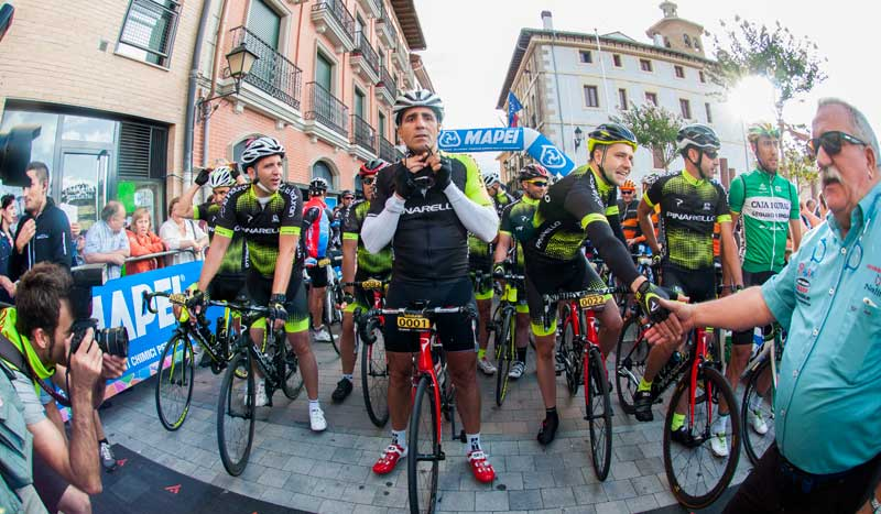 ¡A pedalear con Indurain!