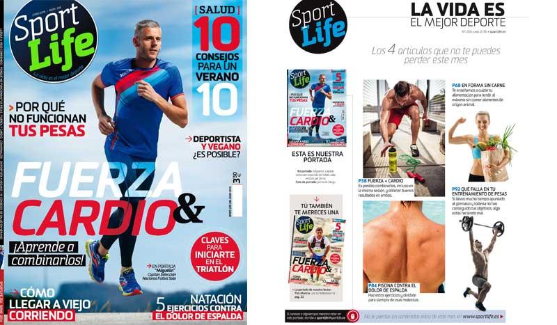 Sumario Sport Life 206 junio 2016