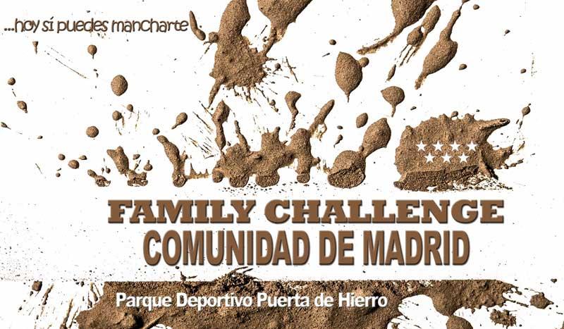 """¿Preparado para """"embarrarte"""" en familia? ¡Llega Family Challenge!"""
