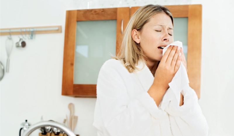 Reduce la alergia con yoga