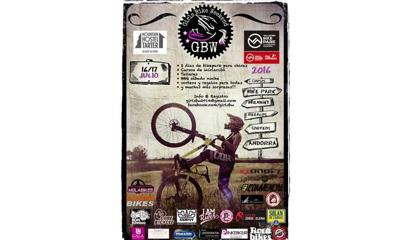 Girls Bike Weekend: ¡El fin de semana de bici para las chicas!
