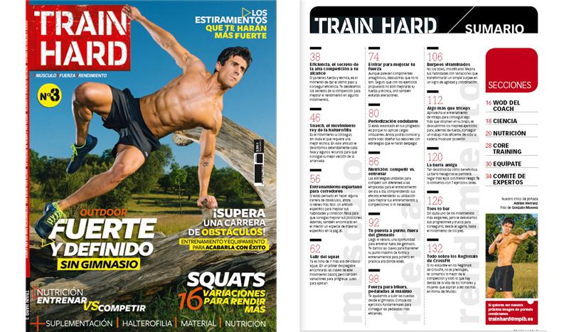 El número 3 de Train Hard ya está en tu quiosco