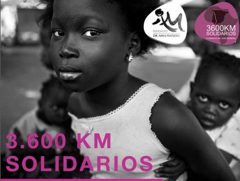 3.600 kilómetros solidarios con Guinea
