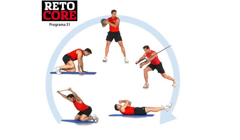 ¡El último entrenamiento de Reto Core para unos abdominales en forma!