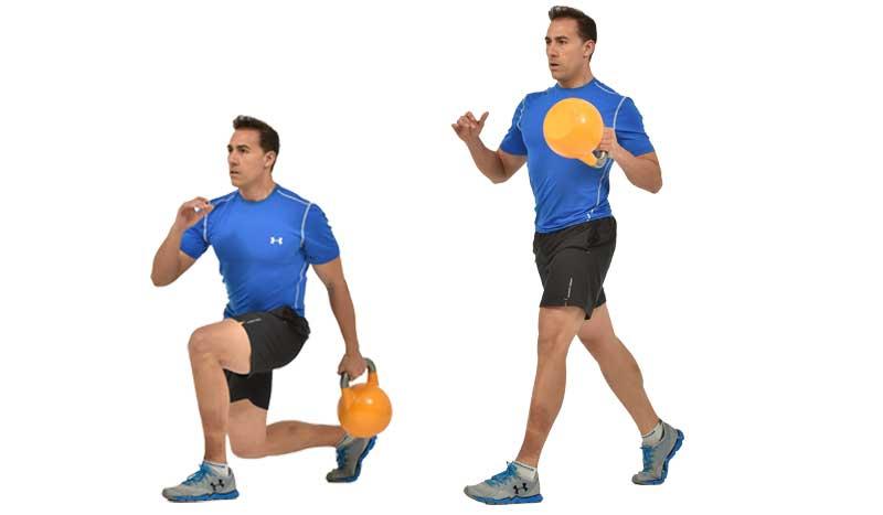 Split con pull: un ejercicio para avanzar y controlar la inercia