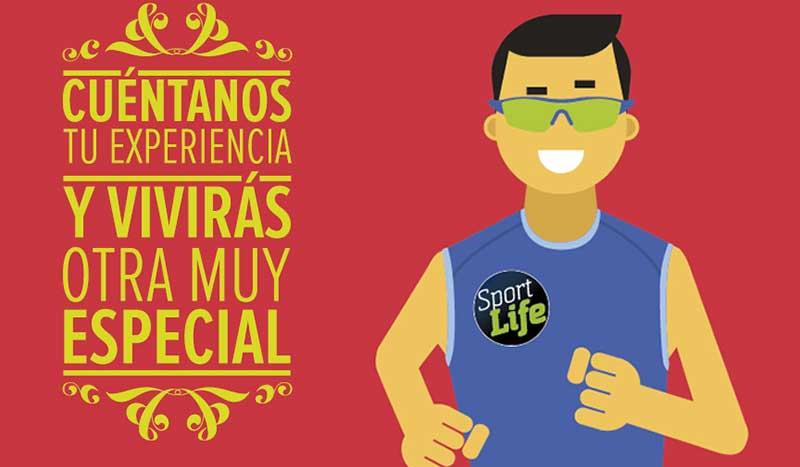 Un plan personalizado Sport Life... ¡A cambio de tu experiencia!