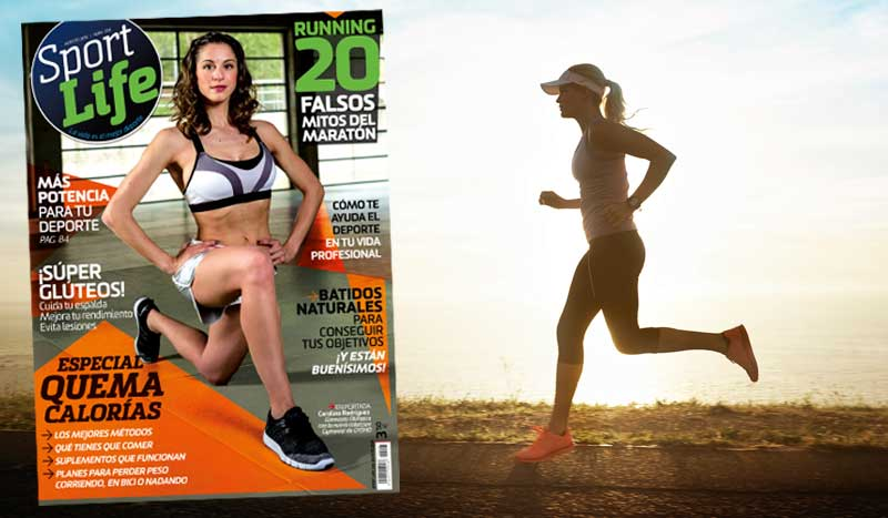 Sumario Sport Life 208 agosto 2016: ¡con el especial quemacalorías!