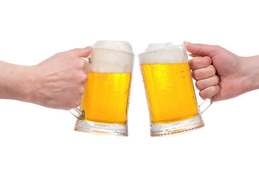Cerveza... ¿después de entrenar?