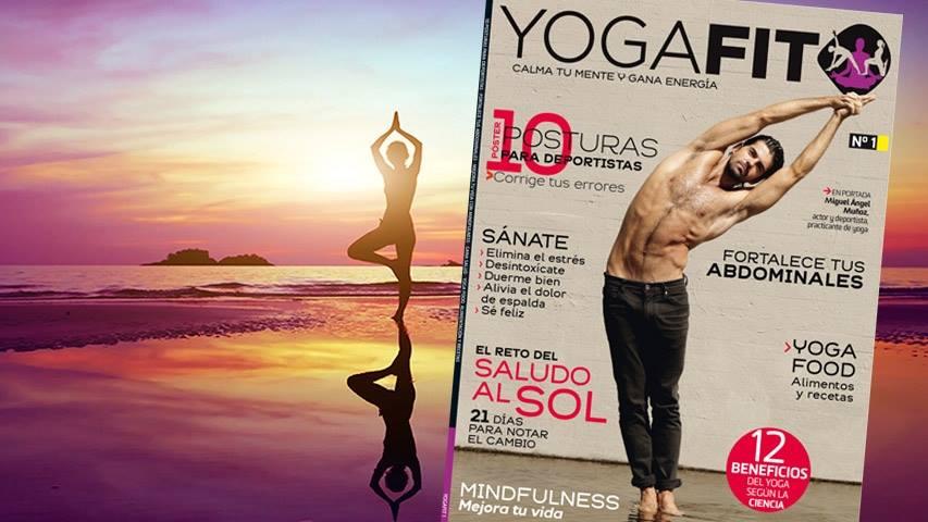 Si te quedaste sin el número 1 de la revista YogaFit, ya está a la venta la 2ª edición