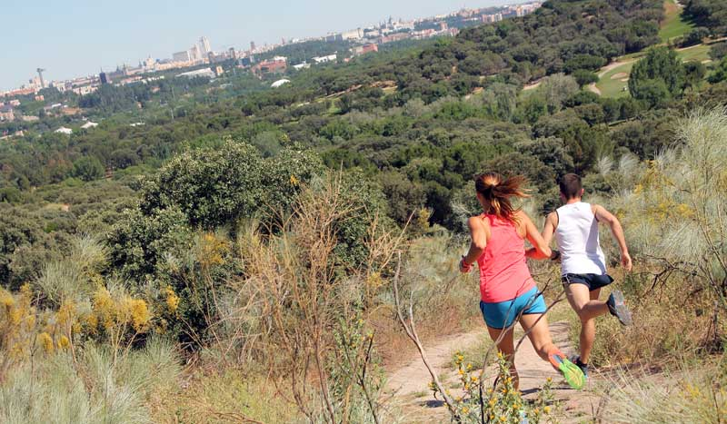 ¡Rétate a un buen trail!  Trail C4 Club de Campo Villa de Madrid