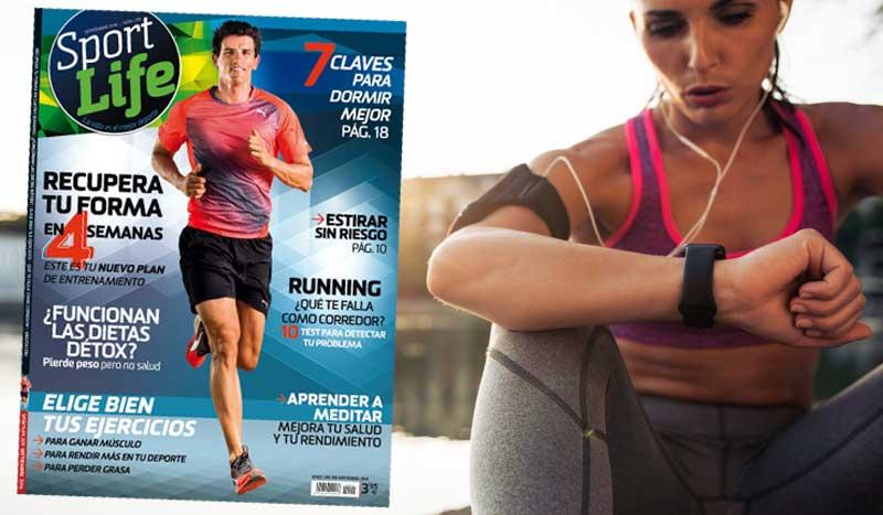 ¡Recupera tu forma en 4 semanas con número 209 de Sport Life!