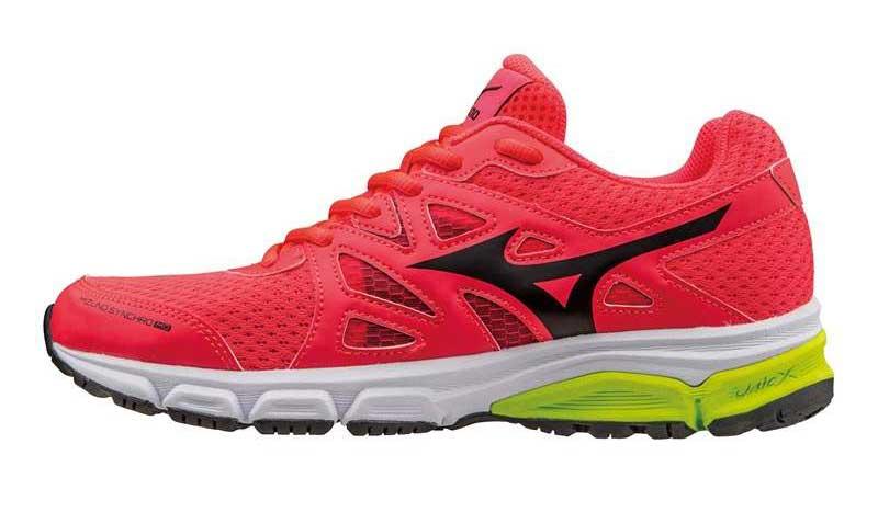 Mizuno Synchro MX: las zapatillas de correr que rinden en el gimnasio