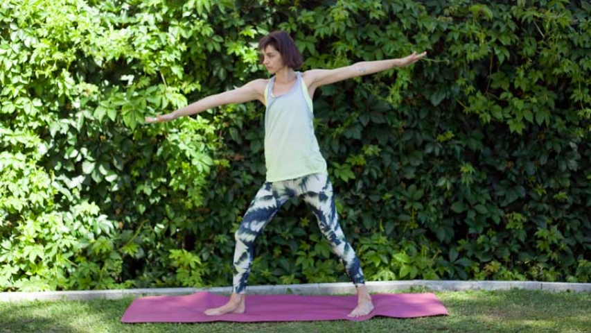 Yoga y Chai en Madrid Río