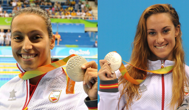 Sarai Gascón y Teresa Perales suman dos medallas de plata más