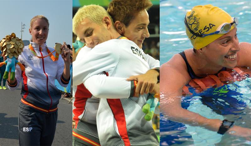 31 medallas para el equipo español en los Juegos Paralímpicos de Río