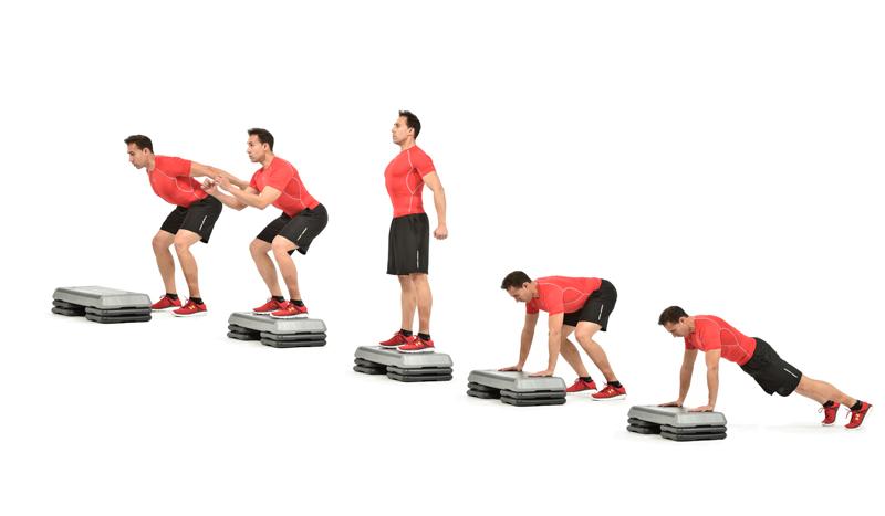 Circuito Hiit En Casa : Circuito ejercicios hiit workout interval training el