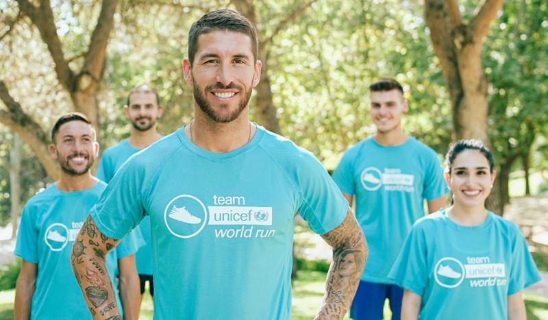 Únete al Team UNICEF World Run