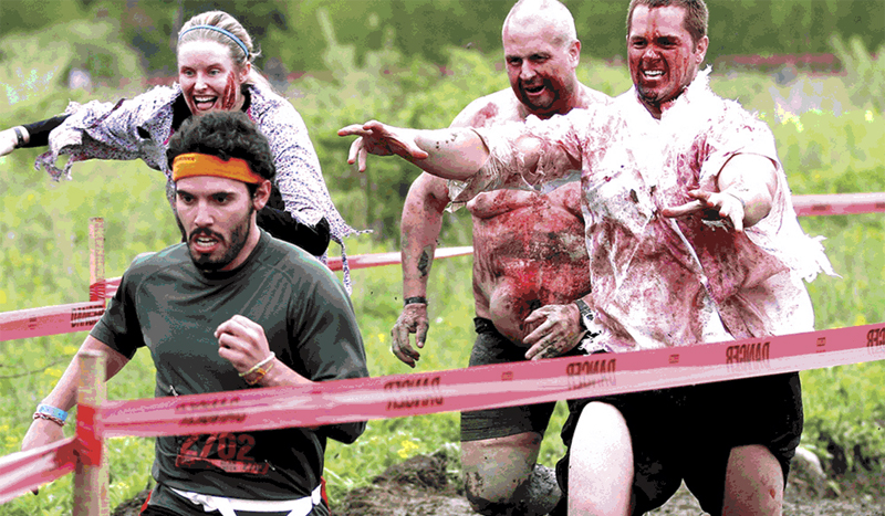 La carrera de los zombies, ¿llegarás con vida a la meta?