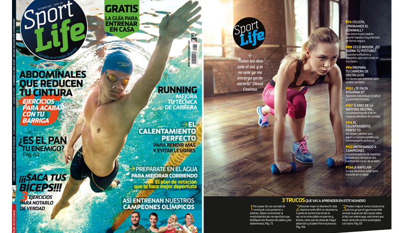 ¡Así es el número de octubre de Sport Life!