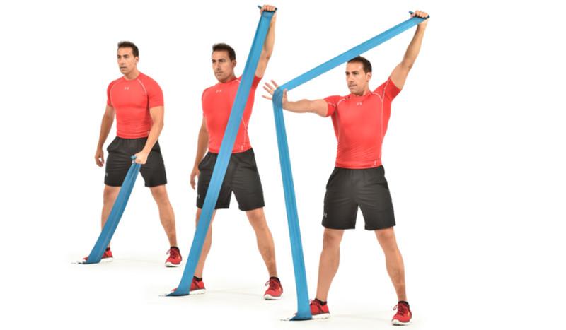 Circuito para unos hombros fuertes y sanos