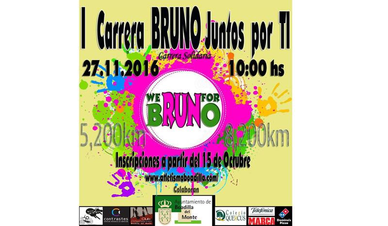 ¿Corres con nosotros por Bruno?