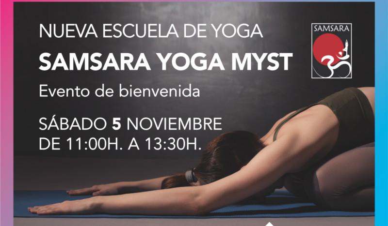 Nueva escuela Samsara Yoga Myst en Madrid
