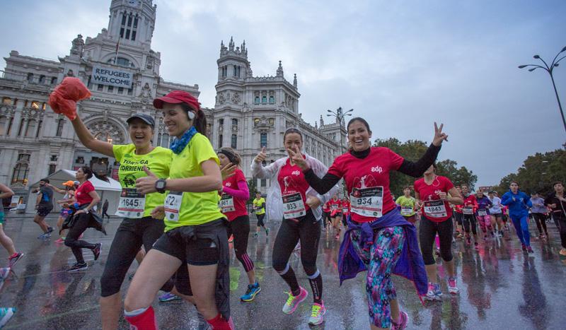 Una primera Media Maratón de la Mujer histórica, ¡y en imágenes!