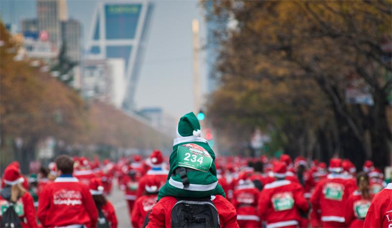 ¿Quién es el Papá Noel más rápido de España?