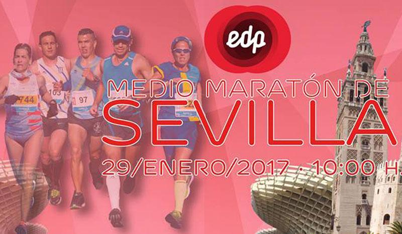 EDP Medio Maratón de Sevilla, ¡tu primer 21 k de 2017!