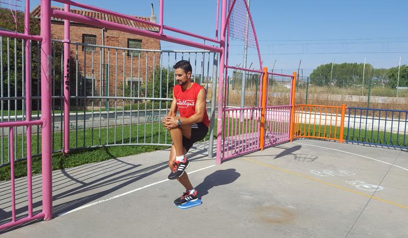 Tres ejercicios de propiocepción para corredores