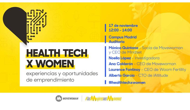 Health Tech x Women, lo último en tecnología para mujeres deportistas
