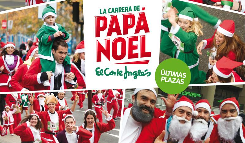 Cuenta atrás para la Carrera de Papá Noel El Corte Inglés de Madrid