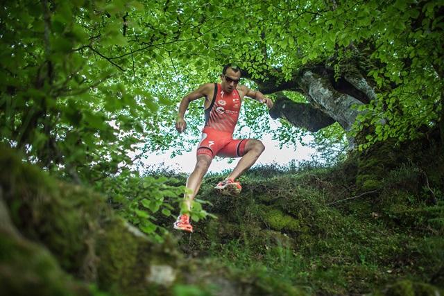 Rubén Ruzafa, campeón del mundo de triatlón de montaña