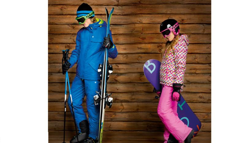 Así debes vestirte para practicar deportes de nieve