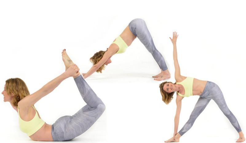 Las cinco posturas de yoga para mejorar tu forma física