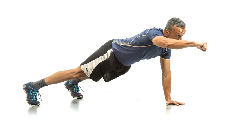 Microsesión de fuerza para ganar músculo y perder grasa: tren superior