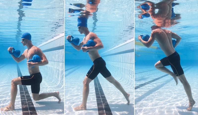 Nadar para ser mejor corredor