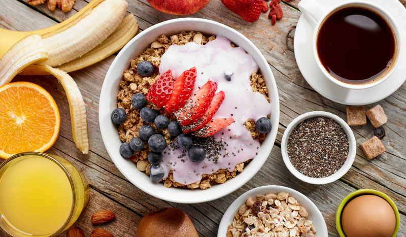 5 alimentos para despertarte con energía