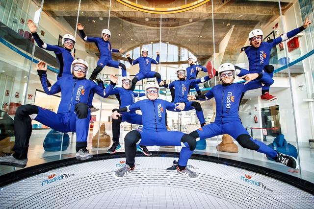 El túnel de viento más alto de Europa